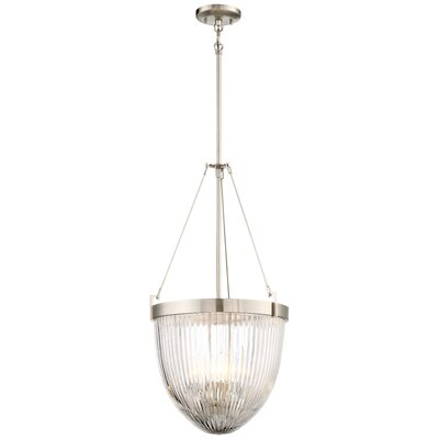 Barbosa 4-Light Bowl Pendant