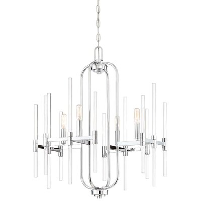 Karn 4-Light Candle-Style Chandelier