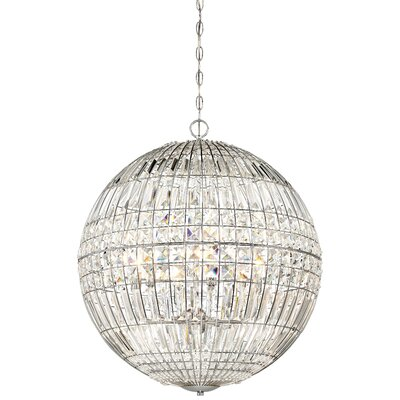 Kenton 6-Light Crystal Chandelier