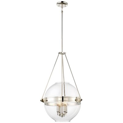 Karle 4-Light Globe Pendant