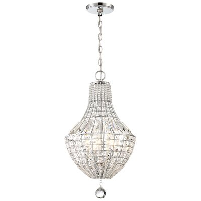 Needham Market 4-Light Crystal Pendant