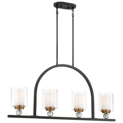 Friedman 4-Light Kitchen Island Pendant