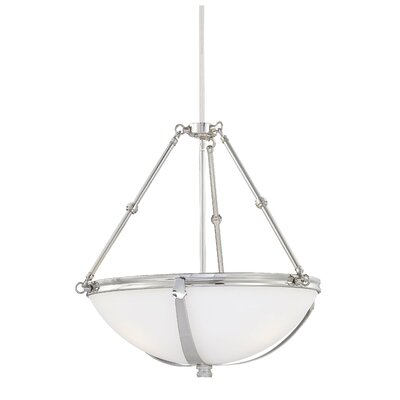 Brookview 3-Light Bowl Pendant