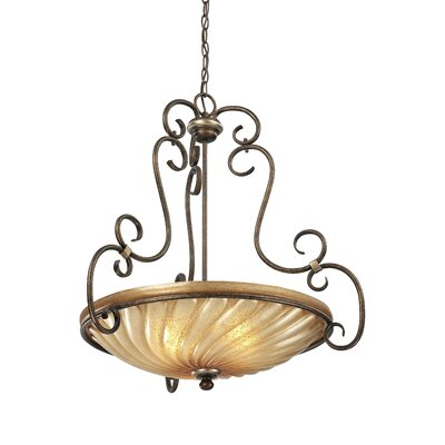 Marsoni 3-Light Bowl Pendant