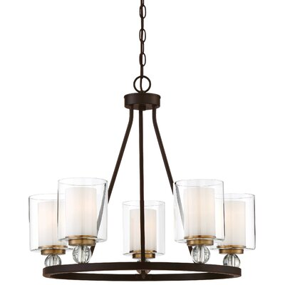 Conard 5-Light Candle Style Chandelier Finish: Bronze
