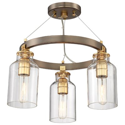 Alysa 3-Light Candle Style Chandelier