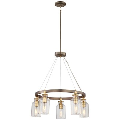 Alysa 5-Light Candle-Style Chandelier