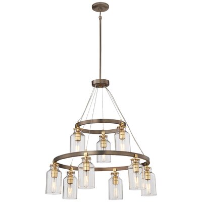 Alysa 9-Light Candle-Style Chandelier