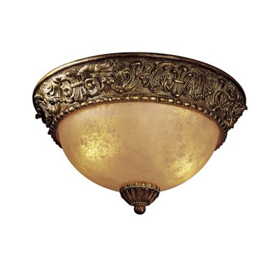 Belcaro Light Flush Mount Size: 7.25 H x 12.75 Diameter