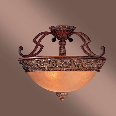 Belcaro 3-Light Semi Flush Mount