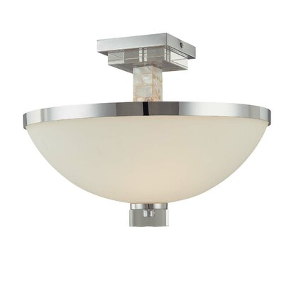 Cashelmara 2-Light Semi Flush Mount