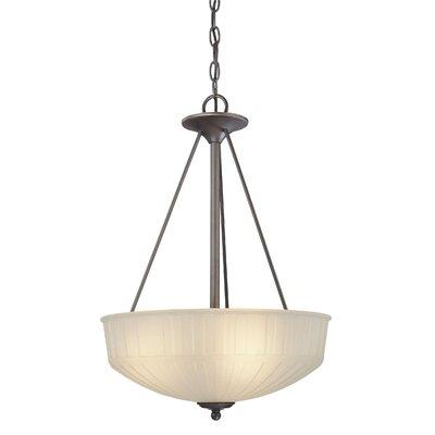 1730 Series 3-Light Inverted Pendant 1737-1-167