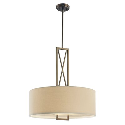 Newton 3-Light Drum Pendant