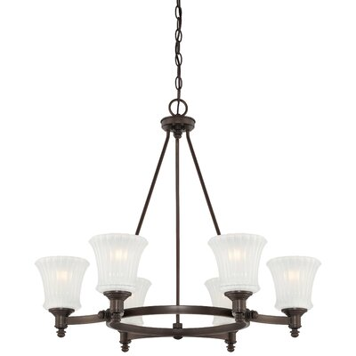 Hayvenhurst 6-Light Shaded Chandelier