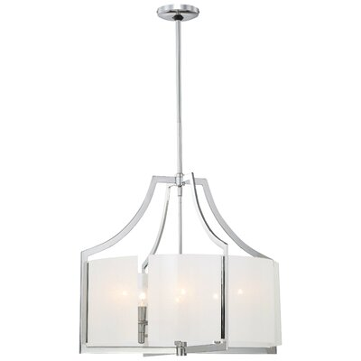 Janik Modern 6-Light Drum Chandelier