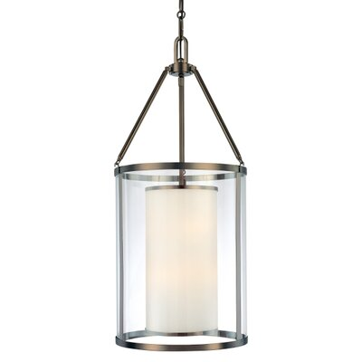 Harvard Court Foyer 3-Light Pendant Size: 37 H x 17 W x 17 D