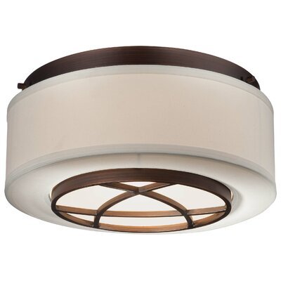 Giroflier 2-Light Flush Mount