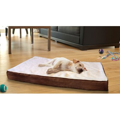 Bette Lydia Pet Bed Size: Large (36 H x 27 W), Color: Espresso