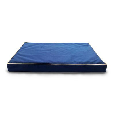 Billy Deluxe Ortho Mat Pet Bed Size: X-Large (44 L x 35 W), Color: Blue