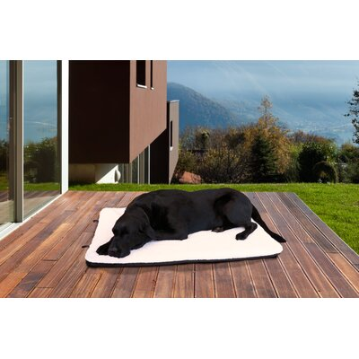 NAP� Sherpa Crate Orthopedic Pet Mat Size: Small (23 L x 16 W)