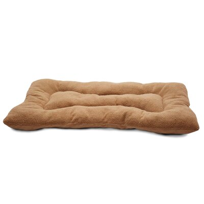 Snuggle Terry and Suede Nap Mat Size: X-Large (41 L x 26 W), Color: Camel