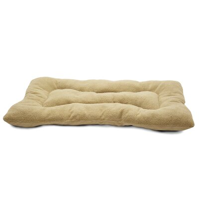 Snuggle Terry and Suede Nap Mat Size: Medium (29 L x 18 W), Color: Clay
