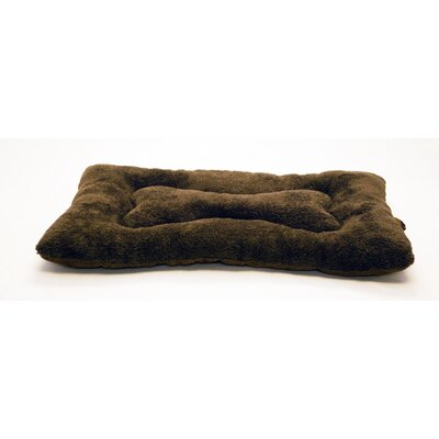 Colby Nap Mat Size: Medium (29 L x 18 W), Color: Espresso