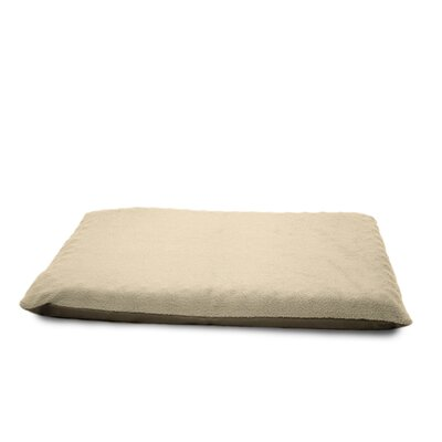 Terry Top Ortho Dog Bed Color: Clay, Size: 2 H x 33.5 W x 42 D
