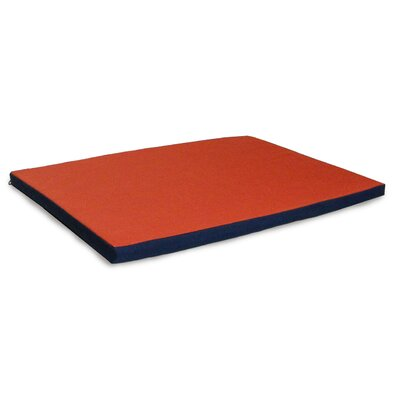 NAP Kennel Pet Pad Size: Extra Small (19 L x 12 W), Color: Blue / Orange