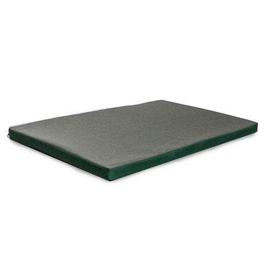 NAP� Kennel Pet Pad Color: Green / Gray, Size: Extra Small (19 L x 12 W)