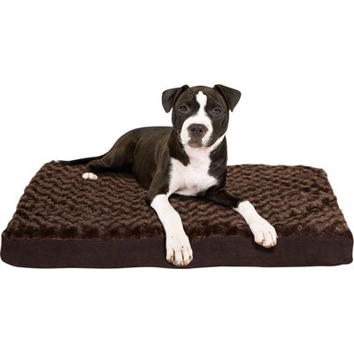 FurHaven Ultra Plush Deluxe Ortho Pet Bed