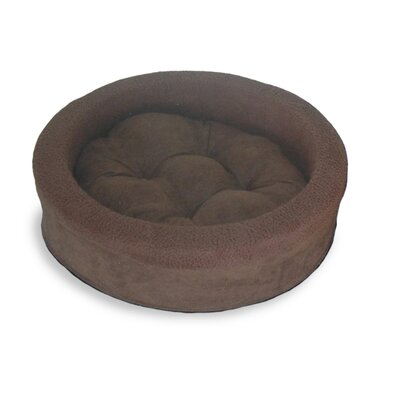 Lounger Dog or Cat Bed Cuddler Color: Espresso