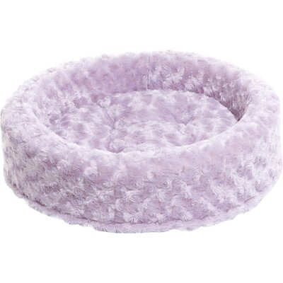 Lounger Dog or Cat Bed Cuddler Color: Lavender