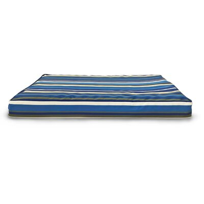 Maughan Indoor/Outdoor Deluxe Ortho Dog Bed Color: Blue