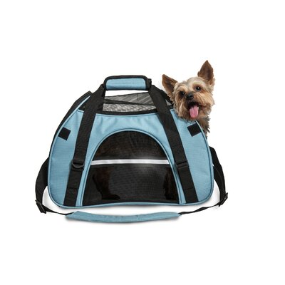Pet Carrier Color: Robin Blue, Size: Small (11.5 H x 8 W x 17 L)