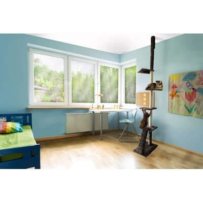 127 Maye Playground Cat Tree Color: Brown