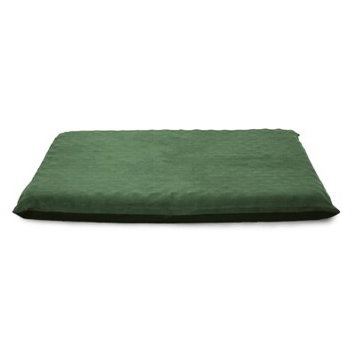 Clifton Suede Top Orthopedic Dog Mat Color: Forest, Size: Large (42 L x 33.5 W)