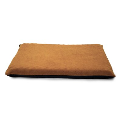 Terry Top Orthopedic Dog Mat Color: Camel