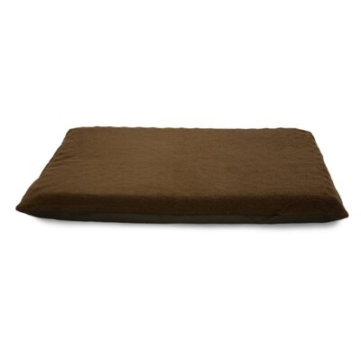Terry Top Orthopedic Dog Mat Color: Espresso