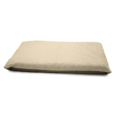 Terry Top Orthopedic Dog Mat Color: Clay