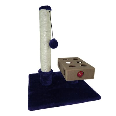 Tiger Tough Scratching Post Color: Blue