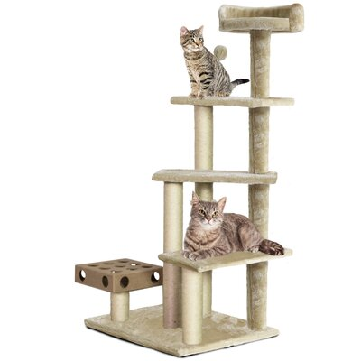 49 Ava Cat Tree Color: Cream