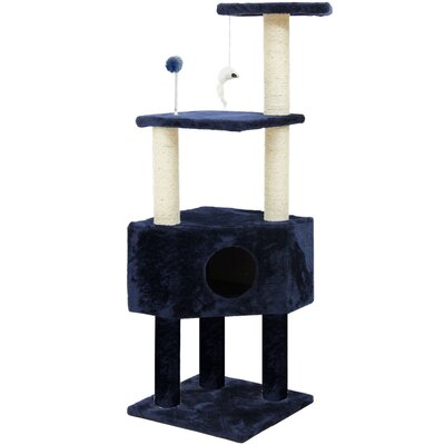 Maye 47 Clubhouse Playground Cat Tree
