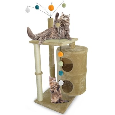 51.5 Tiger Tough Playground Cat Tree