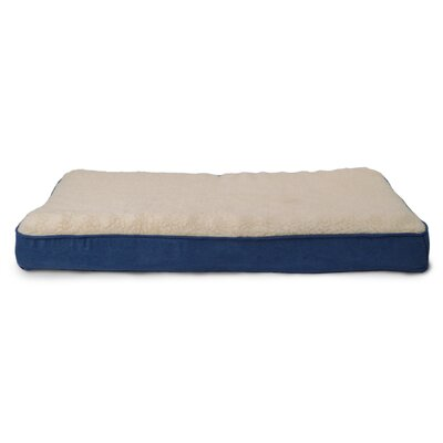 Bette Lydia Pet Bed Size: Small (20 H x 15 W), Color: Navy