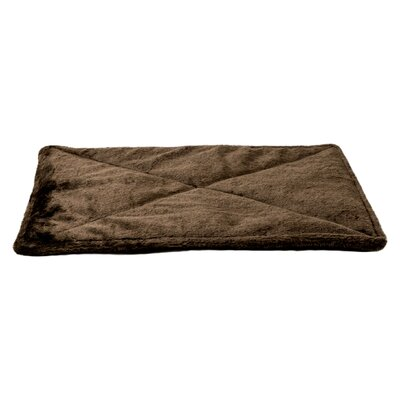 ThermapNAP� Faux Fur Mat/Pad Color: Espresso