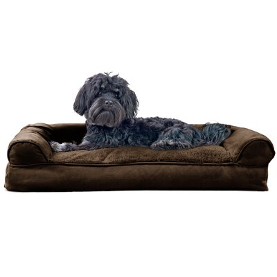 Gerry Dog Bolster Color: Espresso, Size: 7 H x 30 W x 20 D
