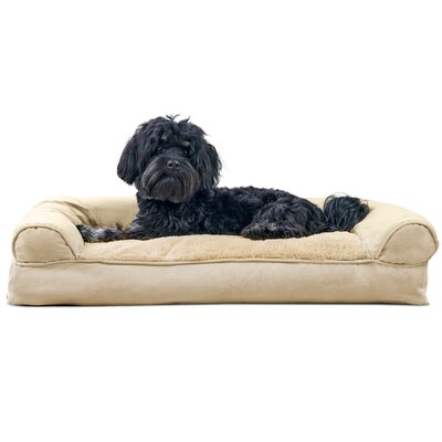Dog Bolster Color: Clay, Size: 7 H x 30 W x 20 D