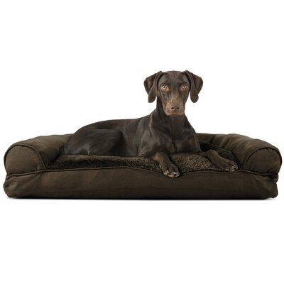 Gerry Dog Bolster Color: Espresso, Size: 8 H x 36 W x 27 D