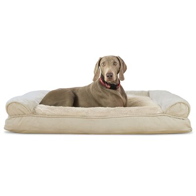 Dog Bolster Color: Clay, Size: 10